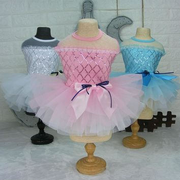 Ballerina Dress with Tutu Sizes XS-L