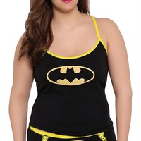 Plus Size 2 Piece Glow in the Dark Batman Lounge Set