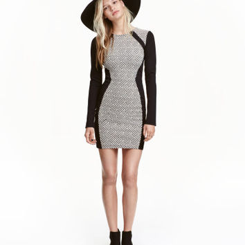 H&M Jacquard-patterned Dress $19.99