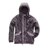 Women's Campshire Bomber in Rabbit Grey by The North Face