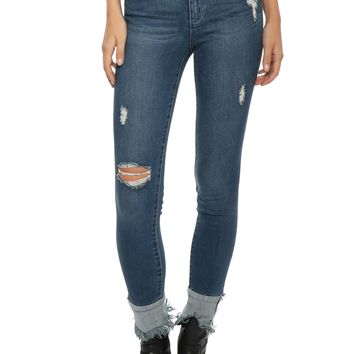 Tractr Blu Obsession M/R Ankle Crop