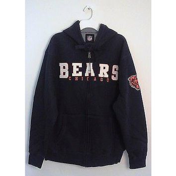 NFL Chicago Bears Big Man Men's Sherpa Jacket Style 580
