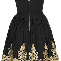 **Lila Bandeau Dress by TFNC - Dresses - Clothing - Topshop USA