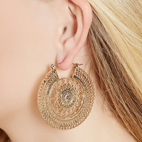 Oranate Cutout Earrings
