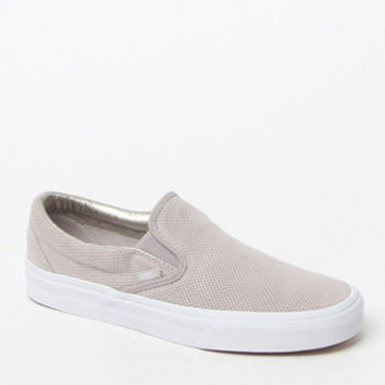 Vans Women's Perf Suede Slip-On Sneakers at PacSun.com
