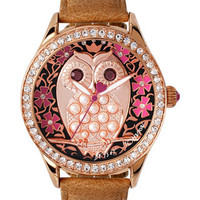 WHO IS THE LOVELIEST OWL FACE WATCH