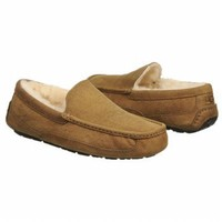 UGG Australia Mens Ascot Leather Slippers