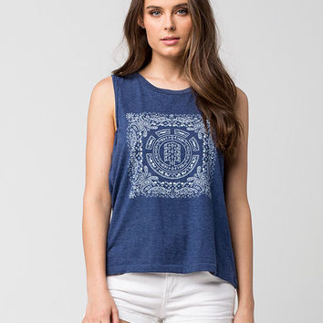 ELEMENT Paisley Womens Muscle Tee | Graphic Tees