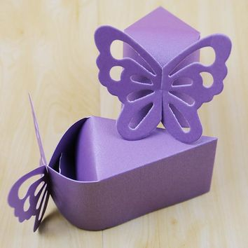 pcs  Butterfly  Decoration  Wedding  Favors  Embalage
