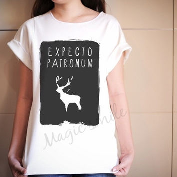 Expecto Patronum Shirt Spells Harry Potter Shirts - Premium cotton Crop tank, Tank Top, T-shirt, Long sleeve, women tank, girl tank