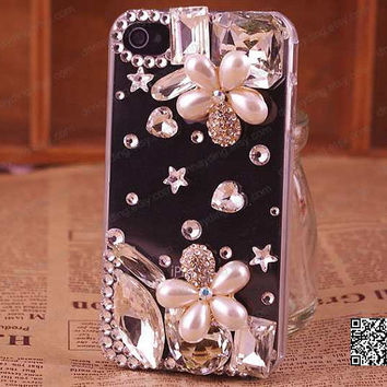 bling iphone case iphone 5 case,iphone 4 case ,bling iphone 5 swarovski case cover,stud crystal iphone case Samsung Galaxy Note2 s2/s3/s4