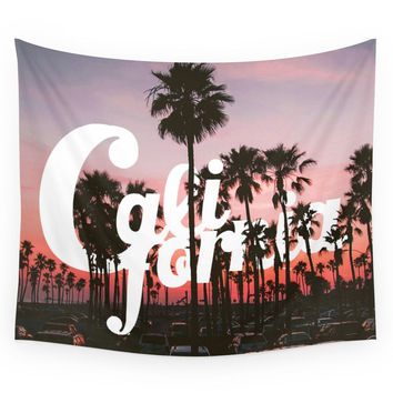 Society6 Balboa Pier, California Wall Tapestry
