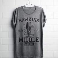 Stranger Things Hawkins Middle School AV Club Shirt