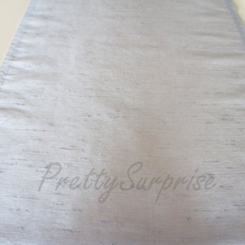 Gray Table Runner, Modern Table Runner, Handmade Table Cover, Linen Tablecloth, Wedding Table Runner