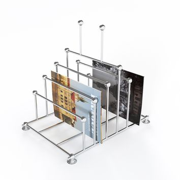 Global Views Decor Nickel File Organizer