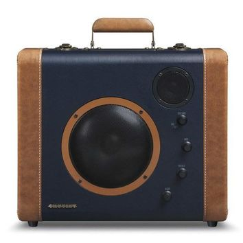 Portable Retro Suitcase Speakers