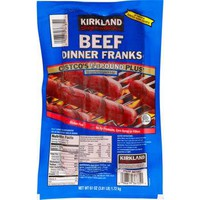 Kirkland Beef Dinner Franks & Polish Sausage