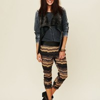 Free People Zig Zag Harem Pants Soft Cozy Knit SOLD OUT at $128 - 5 STAR REVIEWS