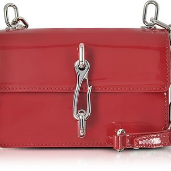 Alexander Wang Hook Lipstick Red Leather Small Crossbody Bag