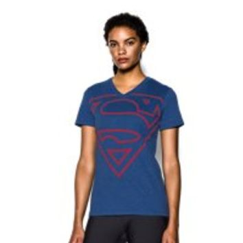 Under Armour Women's Under Armour Alter Ego Supergirl V-Neck