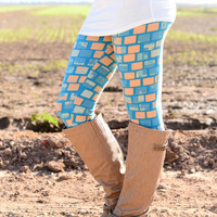 FROZEN BLOCKS LEGGINGS