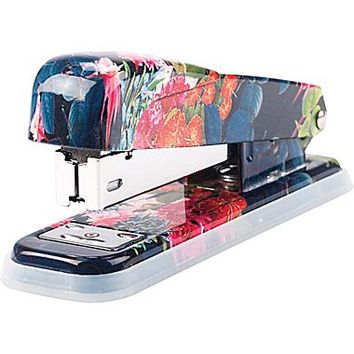 Cynthia Rowley Stapler, Dark Blue Floral | Staples®