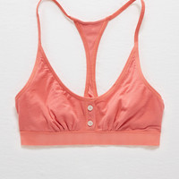 Aerie Boy Bralette, Tropical Coral