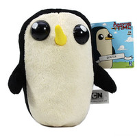 Adventure Time 8'' Gunther Plush Doll Licensed NEW