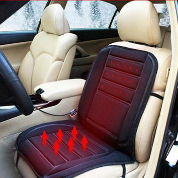 Electric Auto Heated Warm Car Seats Cushion Cover