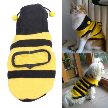 Lovely Bumble Bee Pet Colthes