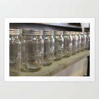 Mason Jars Travel Mug by KJ Designs