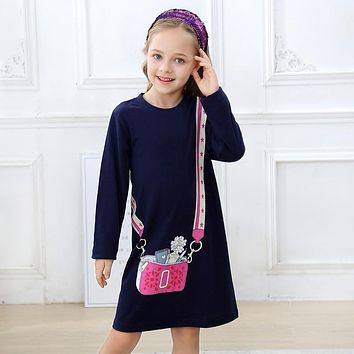 Jumping Meters Girl Dress Reversible Sequines Kids Dresses for Girls Clothes Autumn Winter Baby Dress Christmas Princess Costume 1