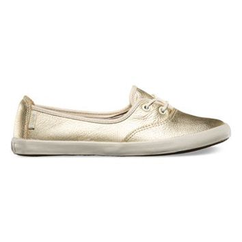 Vans Solana (Leather metallic gold)