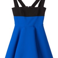 Fausto Puglisi asymmetric hem flared dress