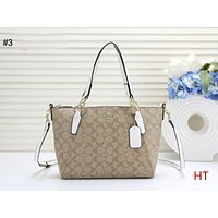 COACH 2018 new trend women's shoulder bag Messenger bag shopping bag #3