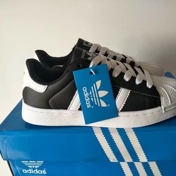 """Adidas"" Fashion Casual Unisex Sneakers Couple Shell Head Plate Shoes"