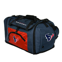 Houston Texans NFL Roadblock Duffle Bag