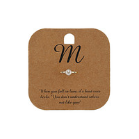 M Midi Initial Ring - Jewelry - Bags & Accessories - Topshop USA