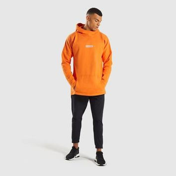 Gymshark Fresh Pullover - Sunset Orange