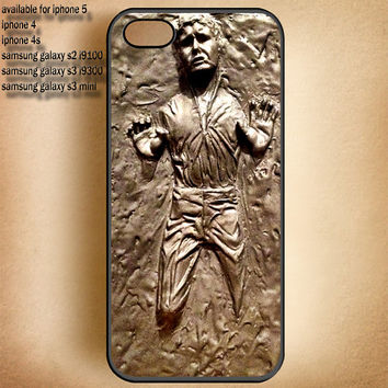 Arts Han Solo in Carbonite-iphone case-samsung case-iphone 4,iphone 4S,iphone 5 Or Samsung Galaxy S2 i9100,S3 i9300,S4 i9500 Case-B5613-12