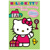 Hello Kitty Coloring and Activity Book with Crayons
