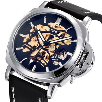 Great Deal Gift Designer's Good Price New Arrival Awesome Trendy Stylish Men Leather Watch [10757664963]