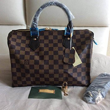 Designer Inspired Canvas Speedy Damier Ebene 30