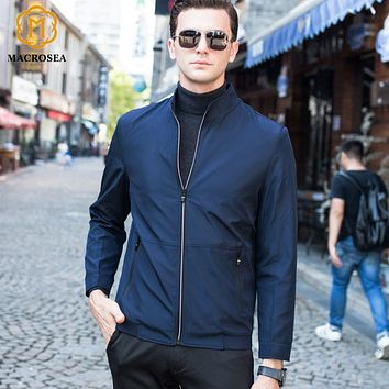 Men's Formal Business Jackets Male Standard Collar Social Casual Jackets High Quality Men's Casual Coat