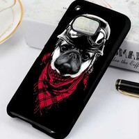 Adventure Pug Dog The Riders HTC One X M7 M8 M9 Case