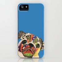 Pug Puppy iPhone Case by kathrynkearny