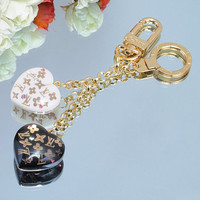 LV Woman Fashion Heart Key Buckle Bag Ornaments For Best Gift