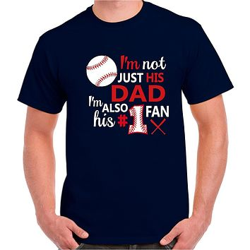 Baseball Dad Shirt | Baseball Dad Tee | Our T Shirt Shack