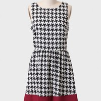 Kings Place Houndstooth Dress