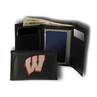 Wisconsin Badgers NCAA Embroidered Trifold Wallet